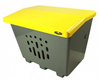 2000-yellow salt bin