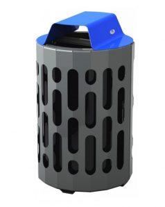 2020 - blue waste bin