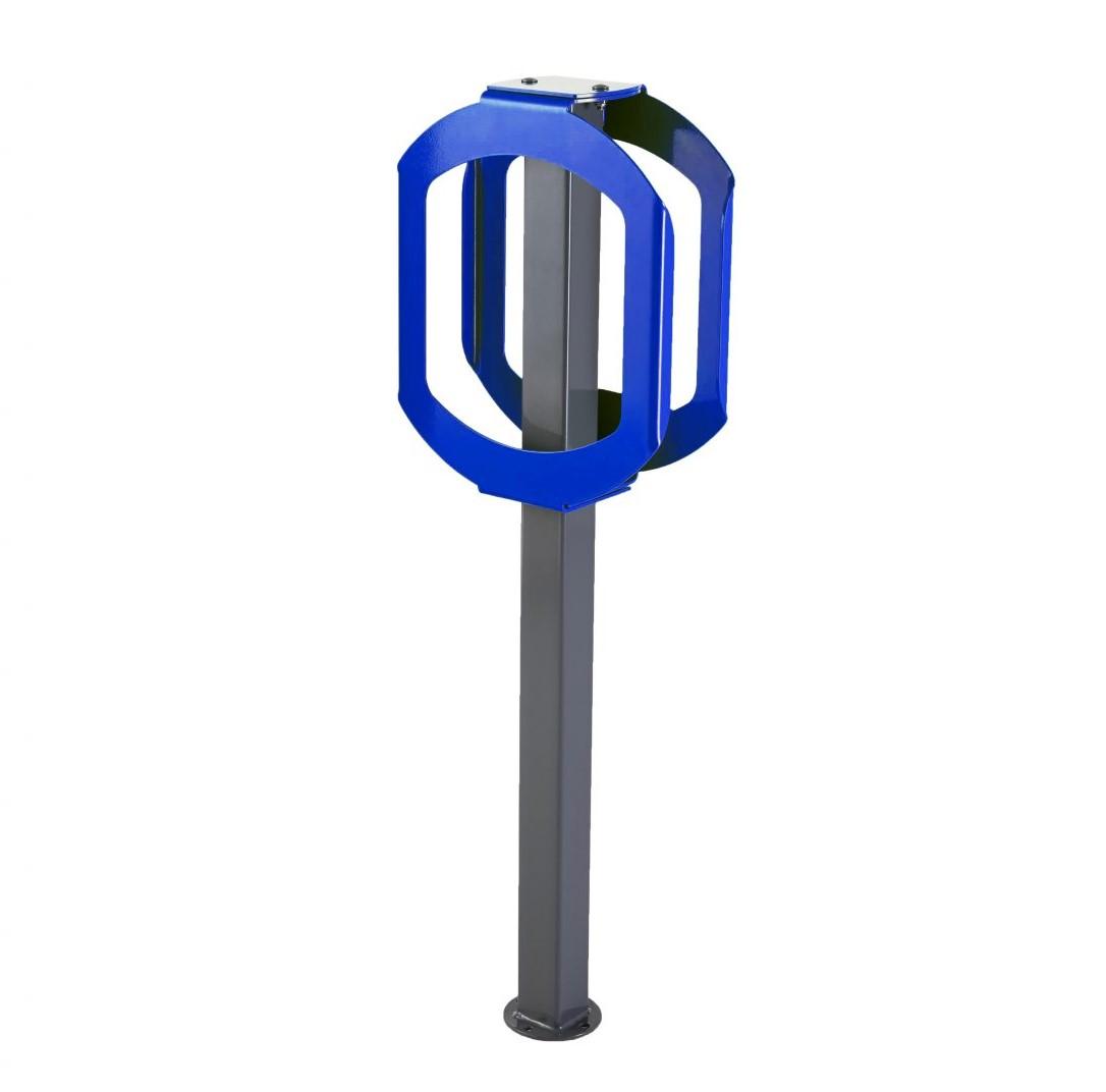 2070 - blue bike stop