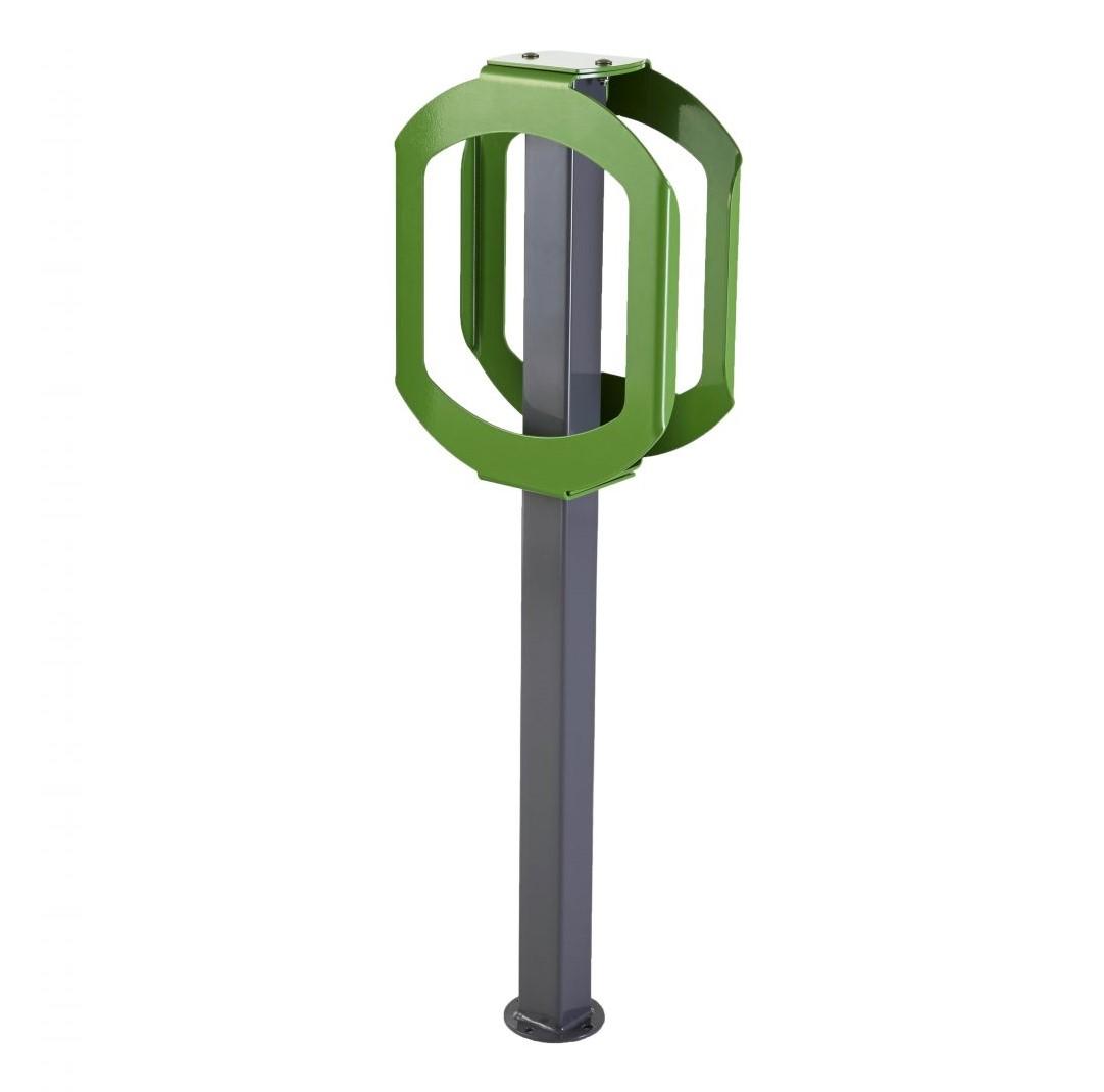 2070 - green bike stop