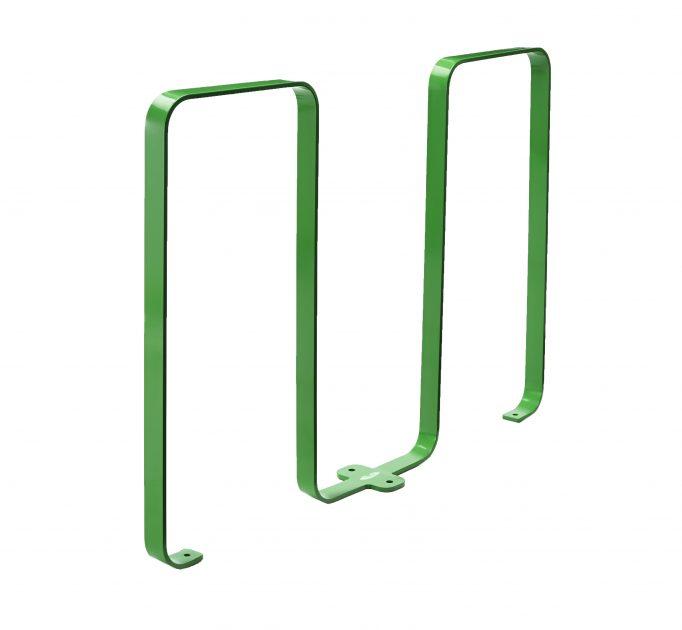2080 - green bike rack